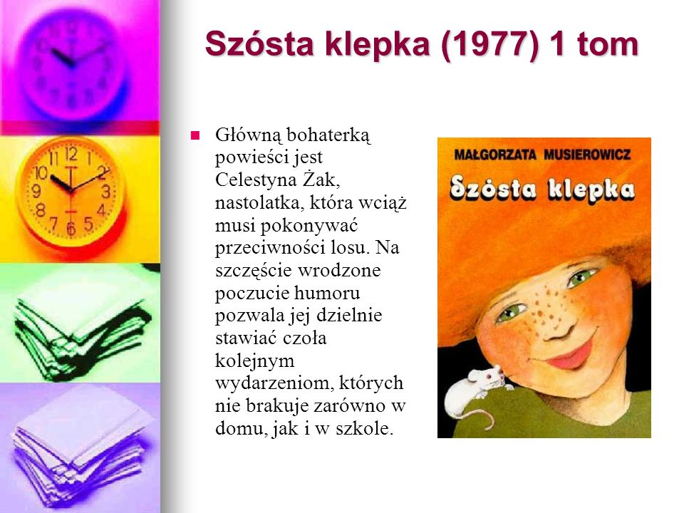 Szósta klepka (1977) 1 tom