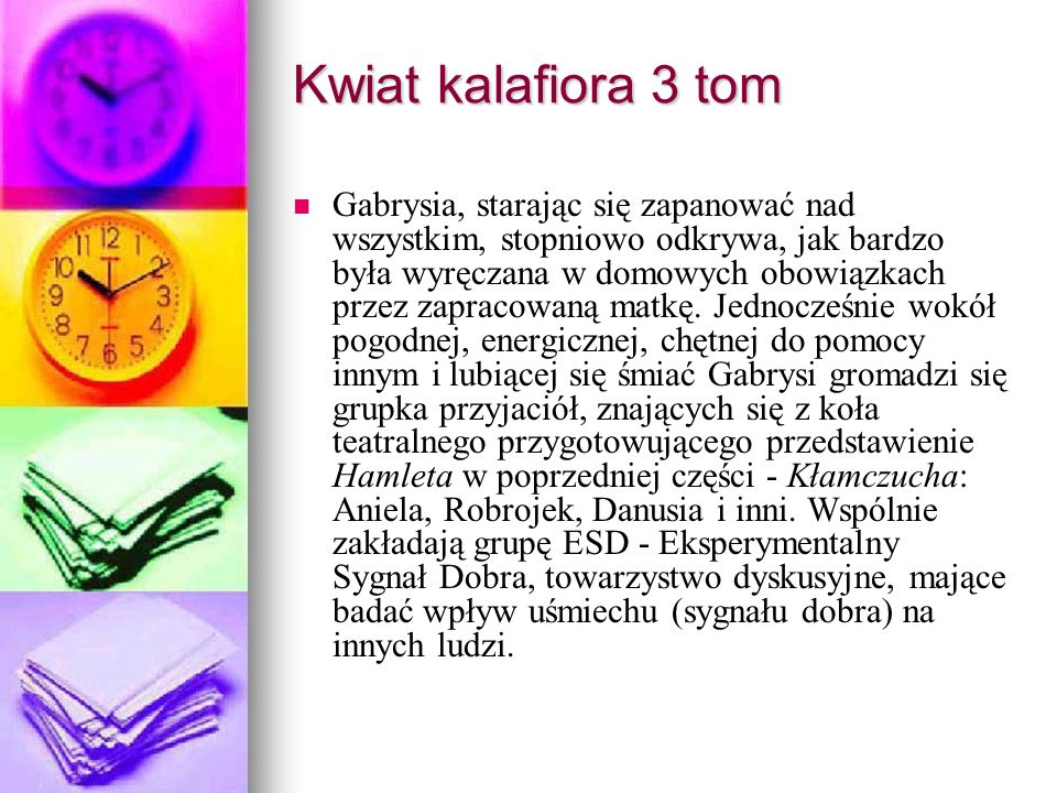 Kwiat kalafiora 3 tom