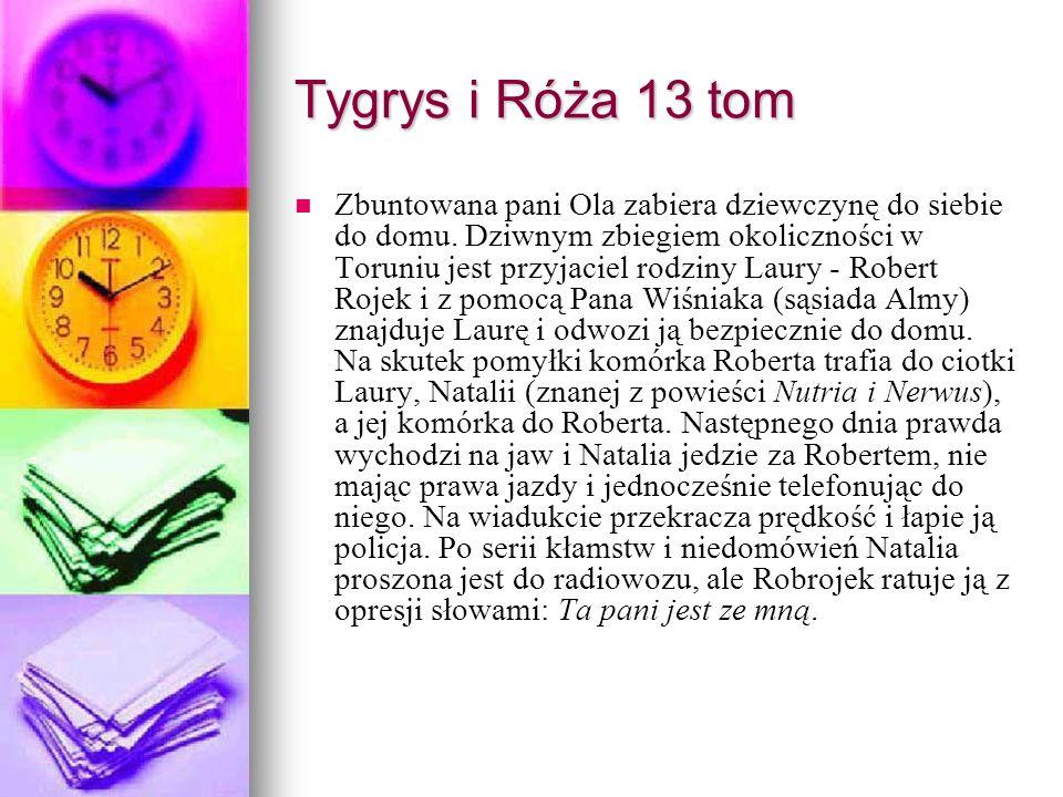 Tygrys i Róża 13 tom