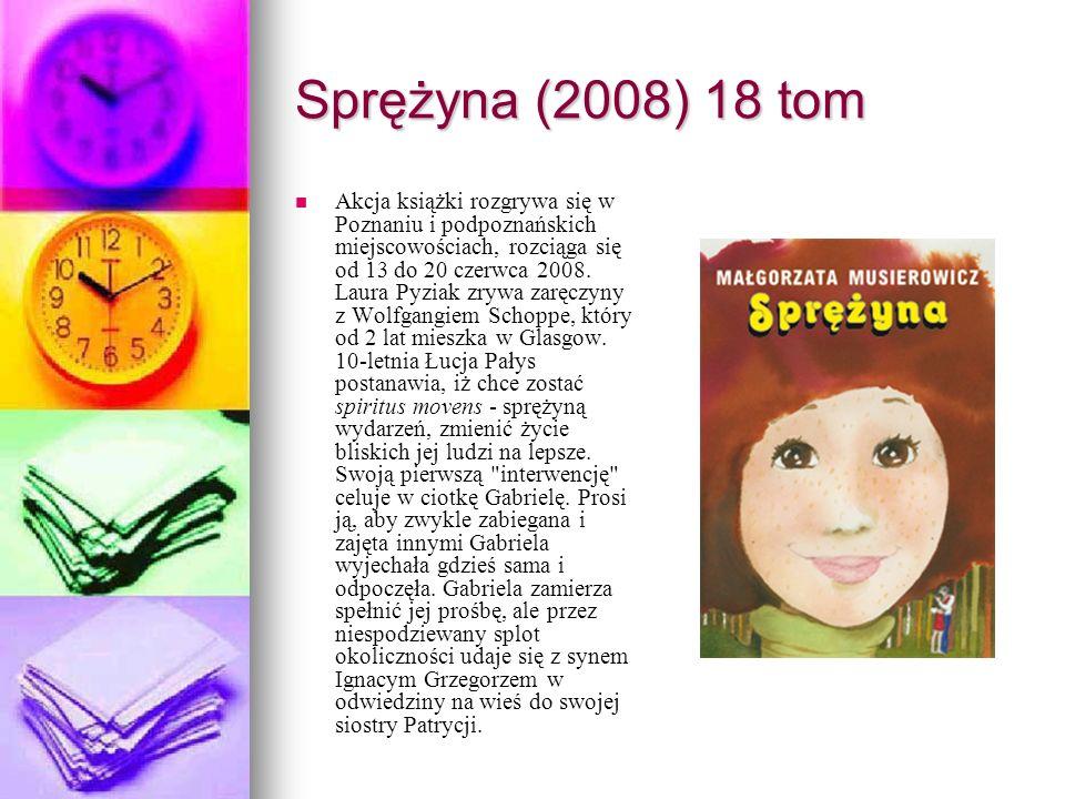 Sprężyna (2008) 18 tom
