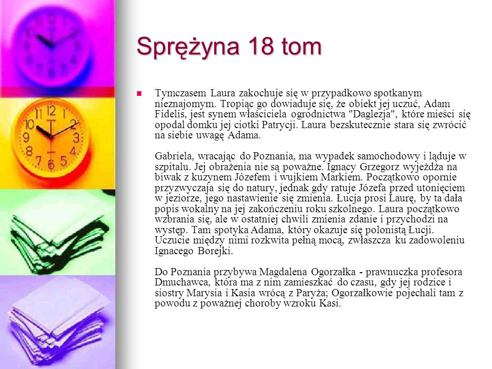 Sprężyna 18 tom