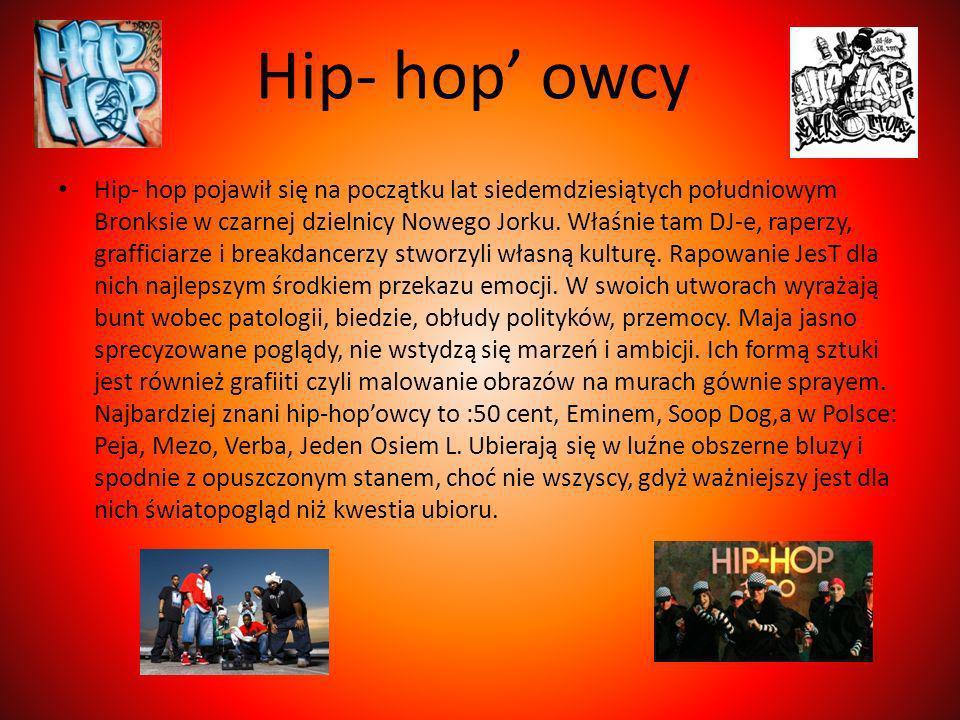 Hip- hop' owcy