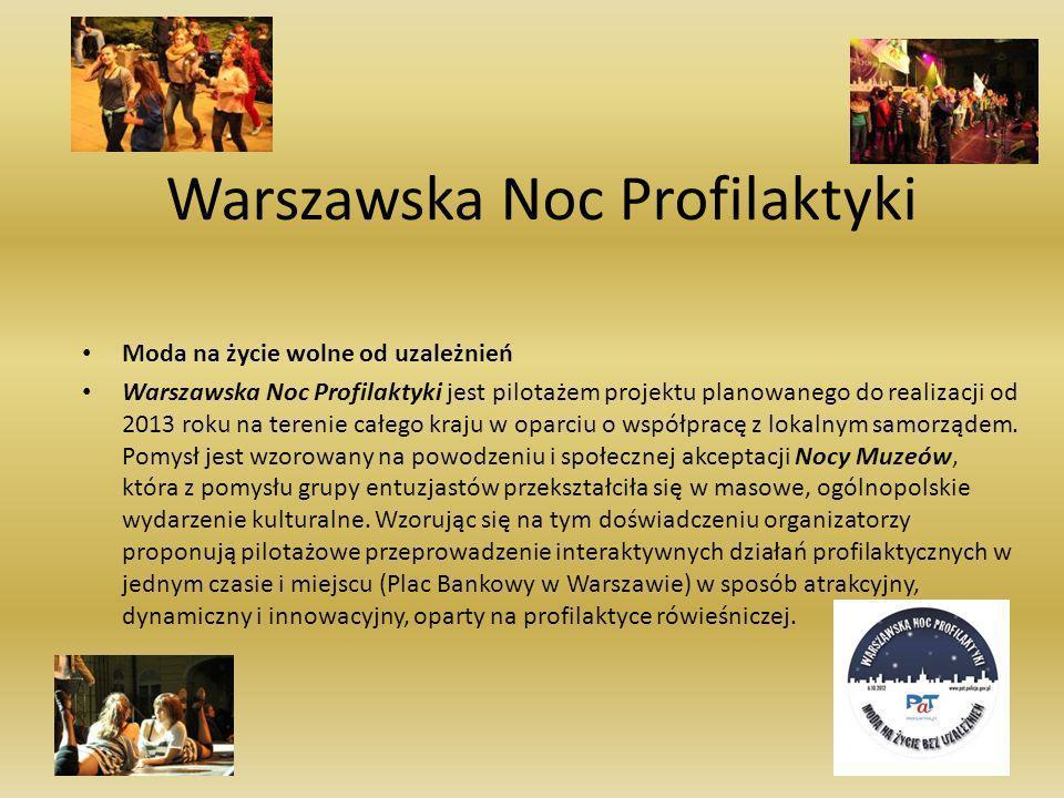 Warszawska Noc Profilaktyki