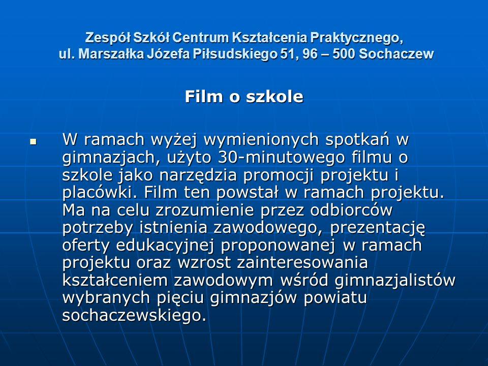 Zespół Szkół Centrum Kształcenia Praktycznego, ul