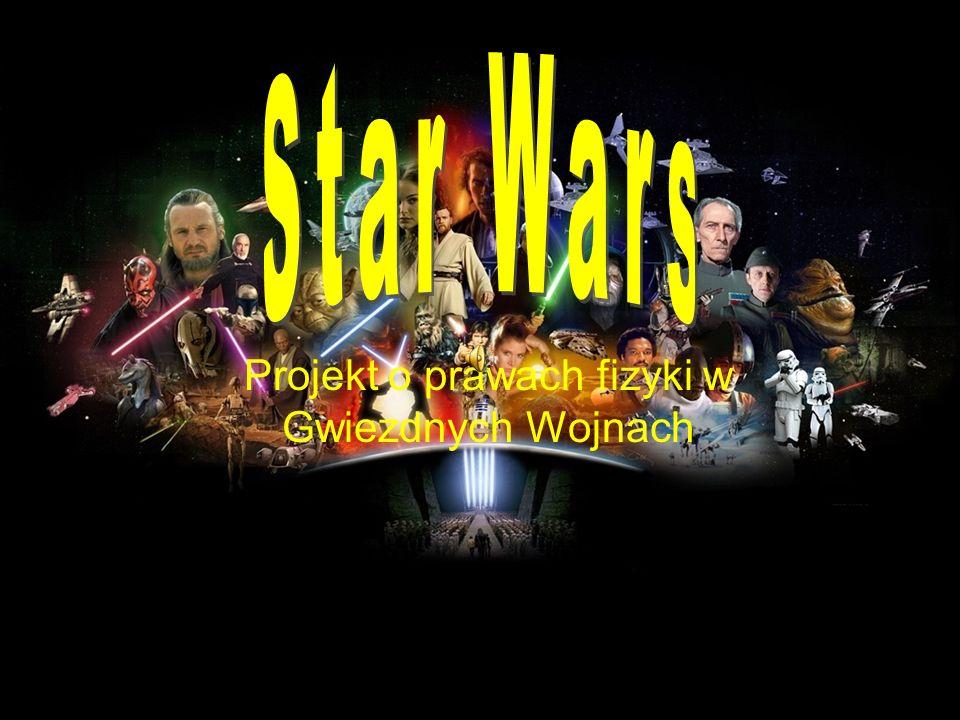Projekt o prawach fizyki w Gwiezdnych Wojnach