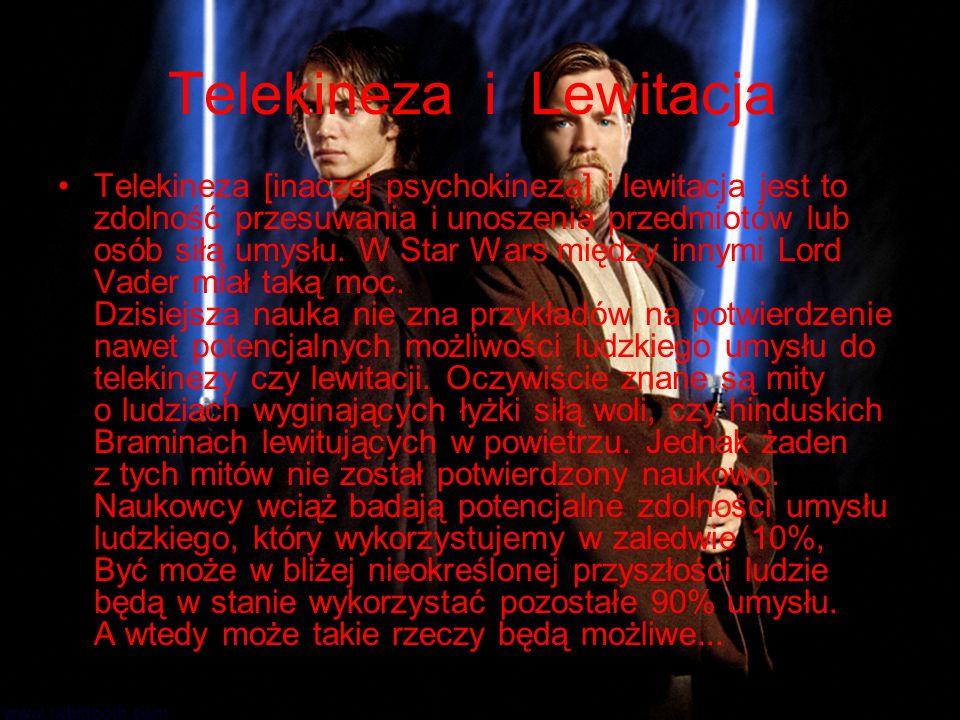 Telekineza i Lewitacja
