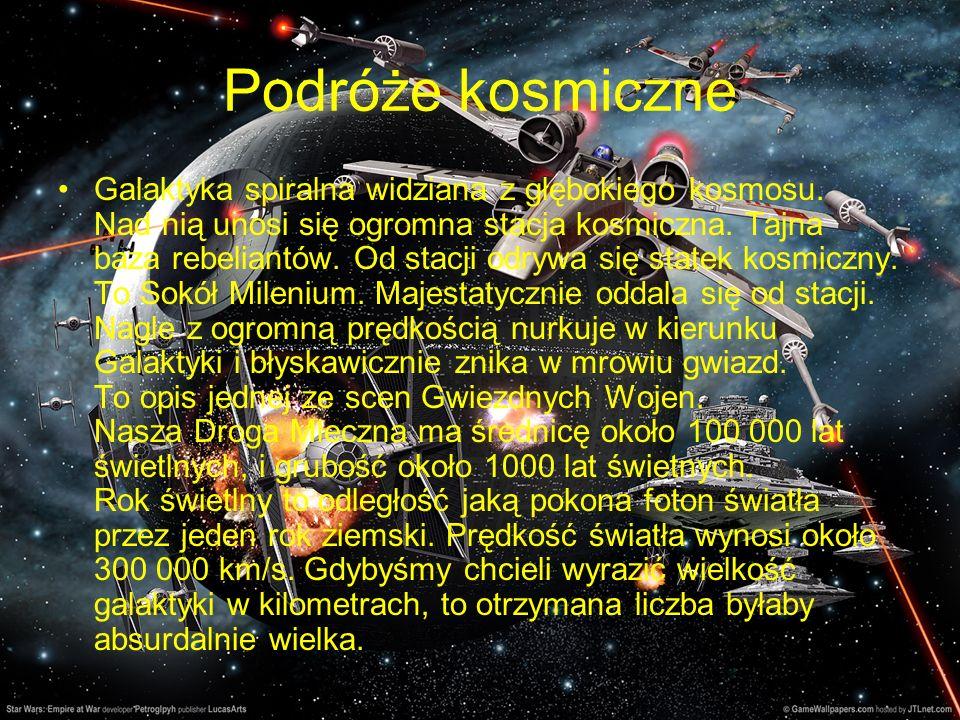 Podróże kosmiczne