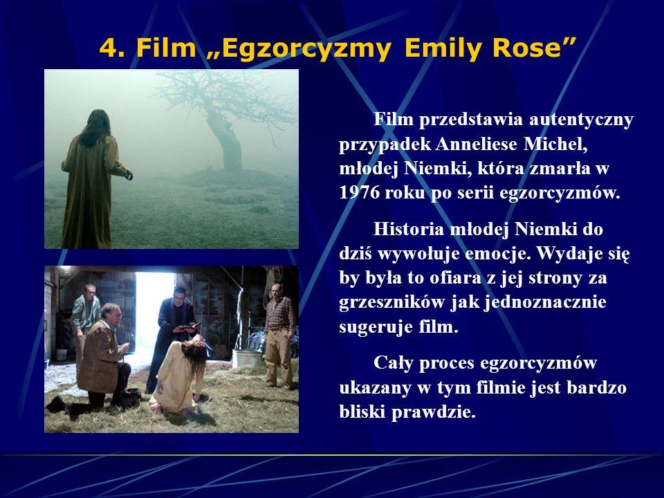 """4. Film """"Egzorcyzmy Emily Rose"""