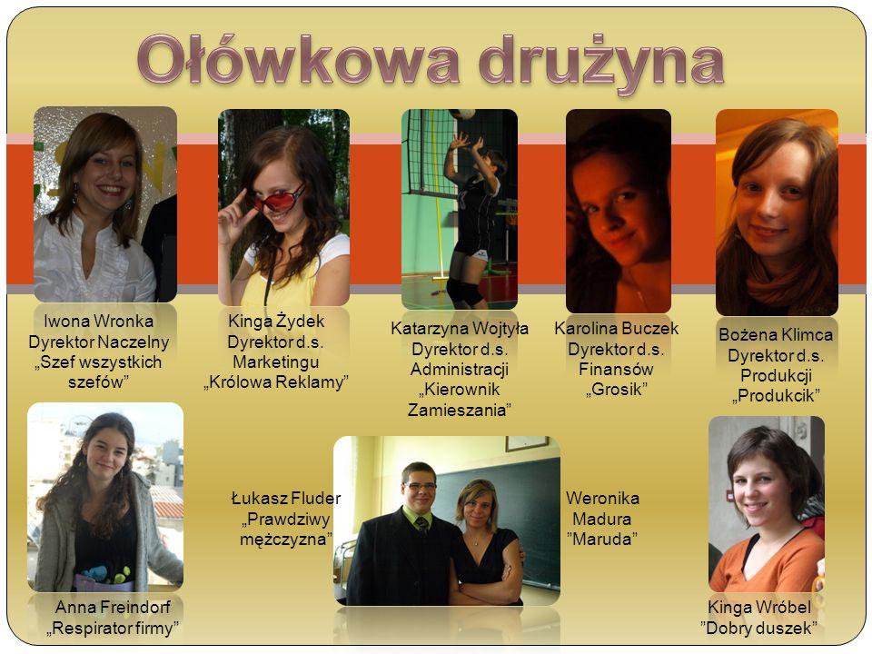 Ołówkowa drużyna Iwona Wronka Dyrektor Naczelny