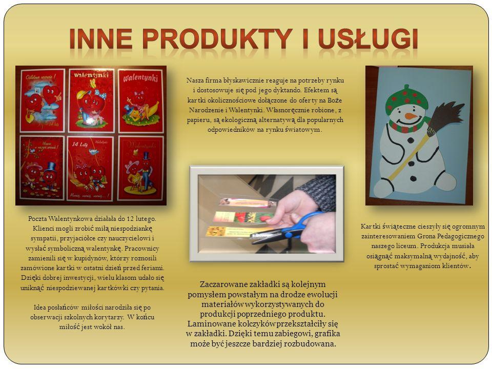 Inne produkty i usługi