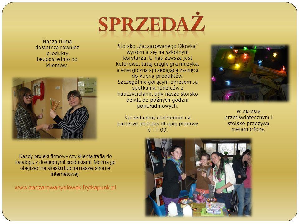 Sprzedaż www.zaczarowanyolowek.frytkapunk.pl