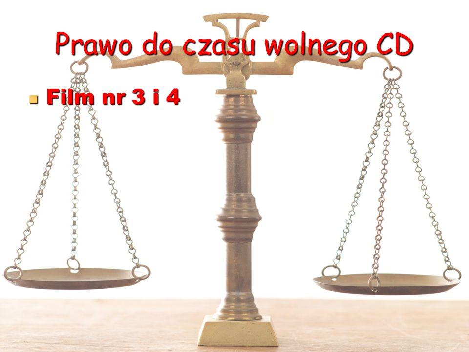 Prawo do czasu wolnego CD
