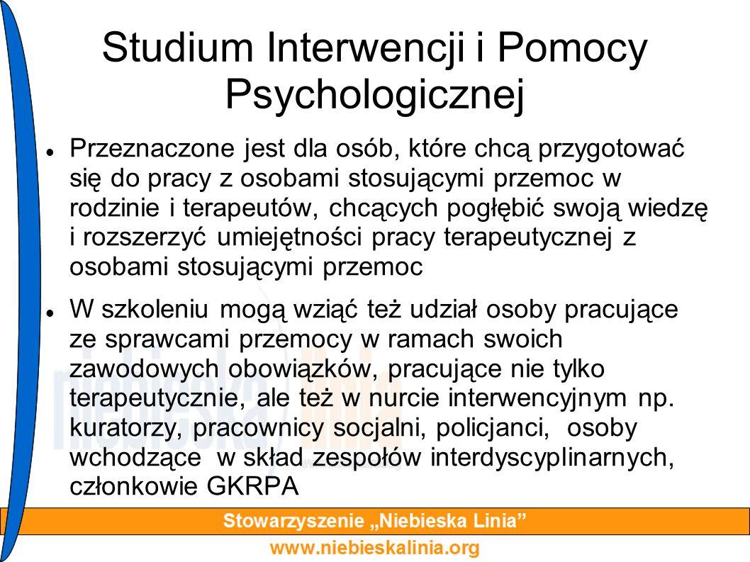 Studium Interwencji i Pomocy Psychologicznej