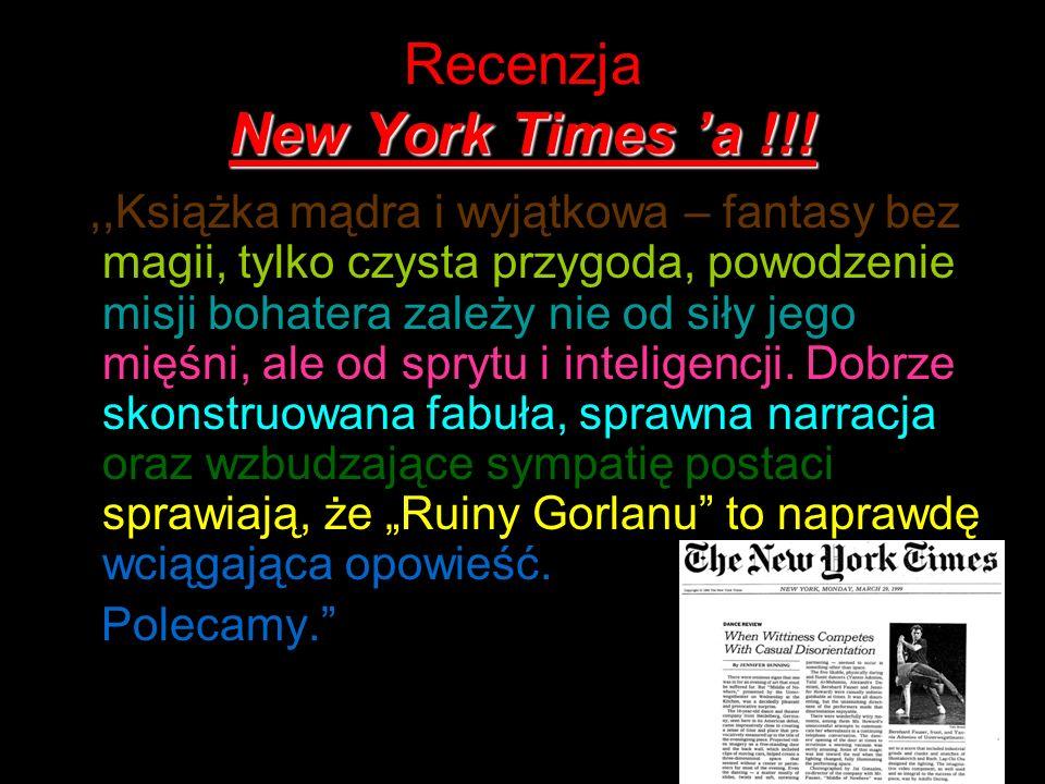 Recenzja New York Times 'a !!!