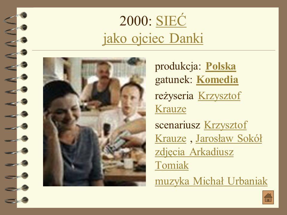 2000: SIEĆ jako ojciec Danki