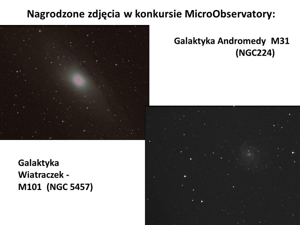Nagrodzone zdjęcia w konkursie MicroObservatory: Galaktyka Andromedy M31 (NGC224)