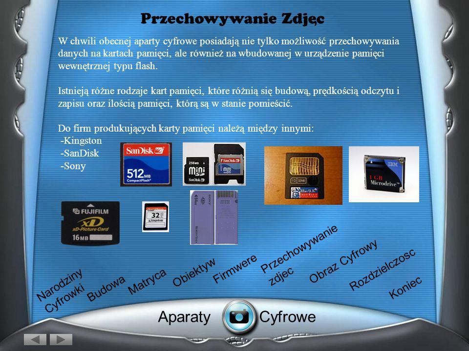 Przechowywanie Zdjec Aparaty Cyfrowe , Przechowywanie zdjec