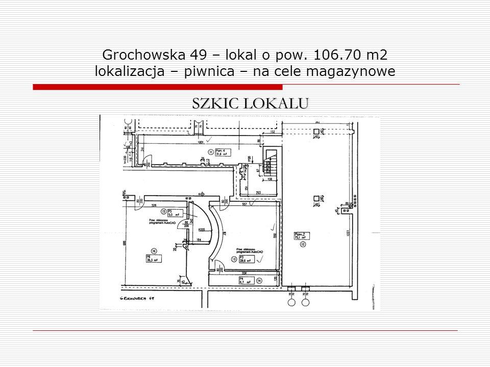 Grochowska 49 – lokal o pow. 106