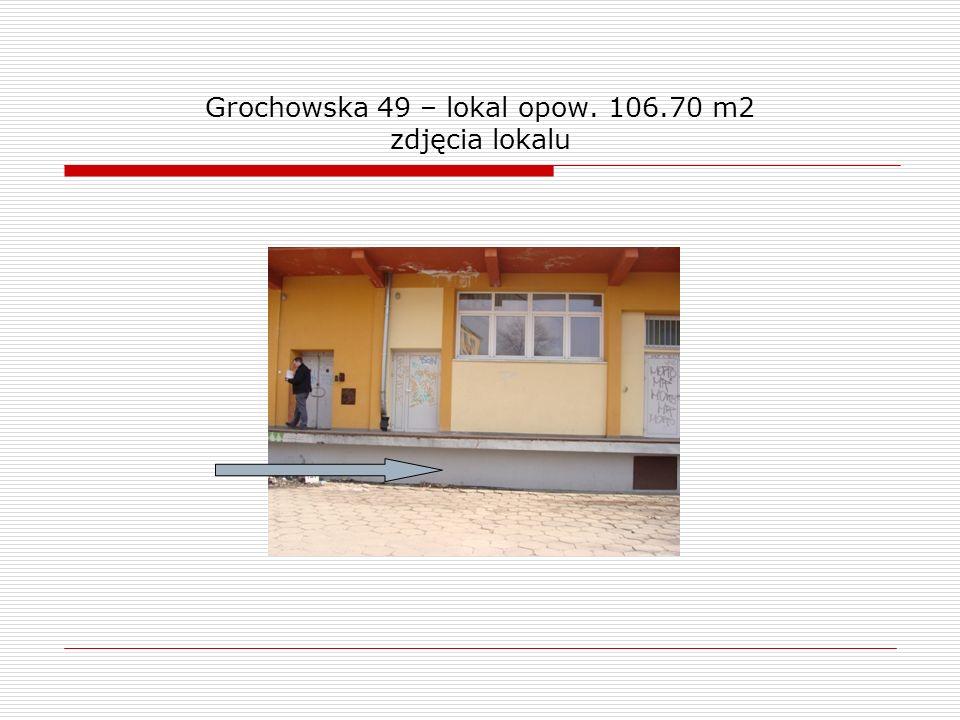 Grochowska 49 – lokal opow. 106.70 m2 zdjęcia lokalu