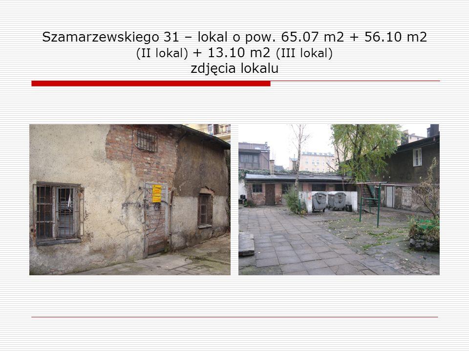 Szamarzewskiego 31 – lokal o pow.