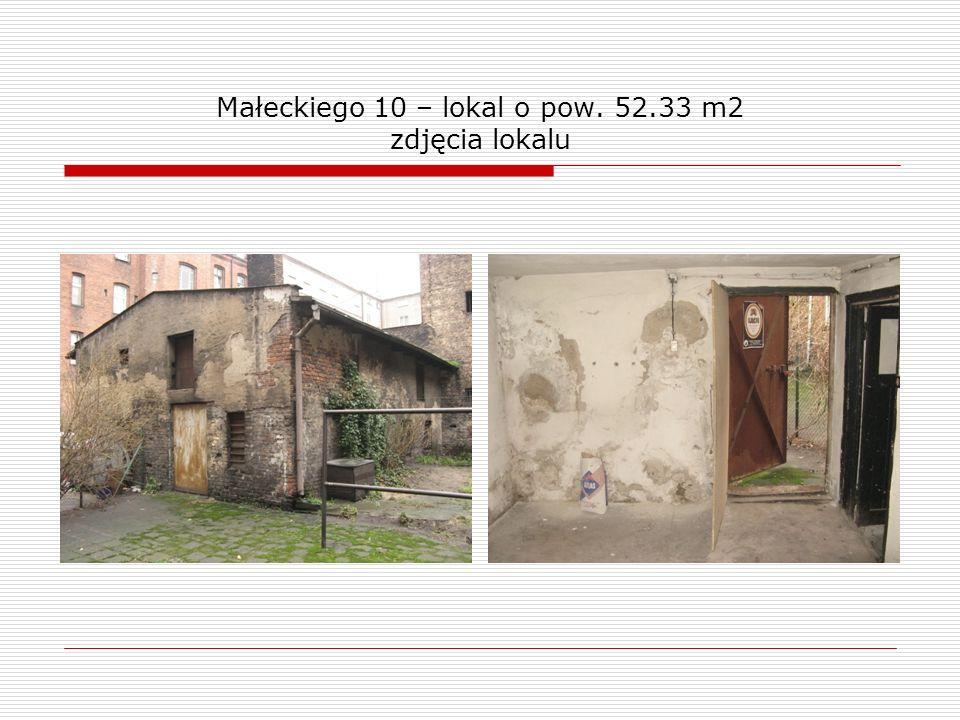 Małeckiego 10 – lokal o pow. 52.33 m2 zdjęcia lokalu