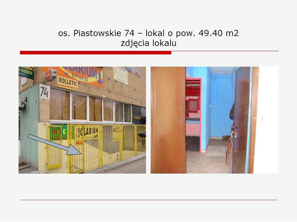 os. Piastowskie 74 – lokal o pow. 49.40 m2 zdjęcia lokalu
