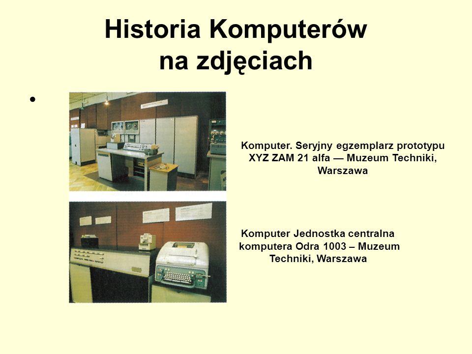 Historia Komputerów na zdjęciach