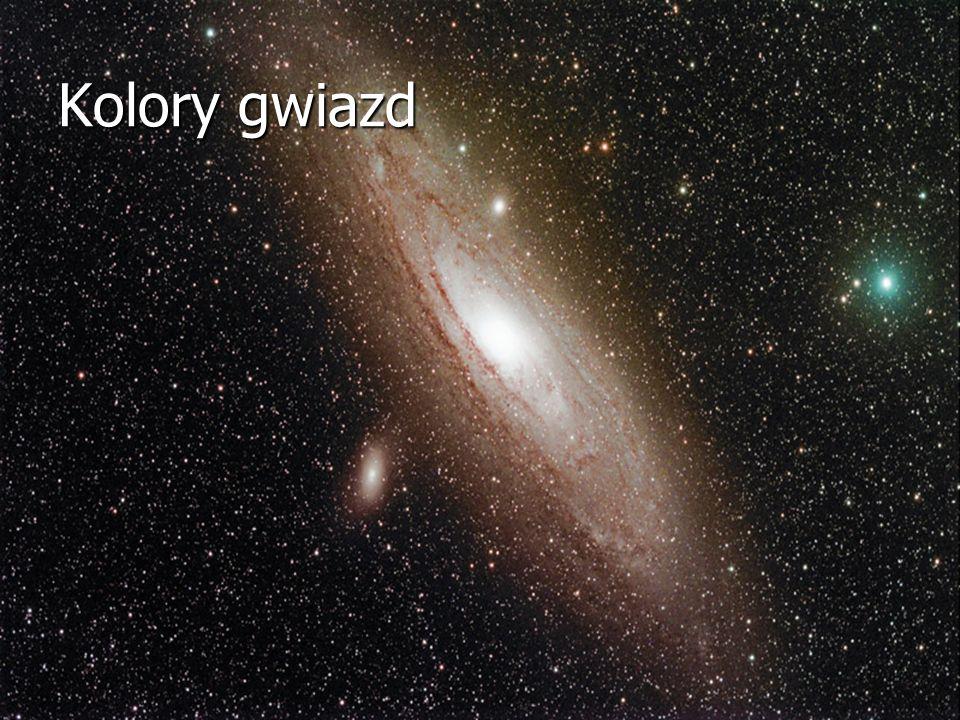Kolory gwiazd Fot autor – M31