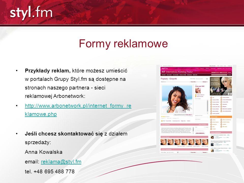 Formy reklamowe