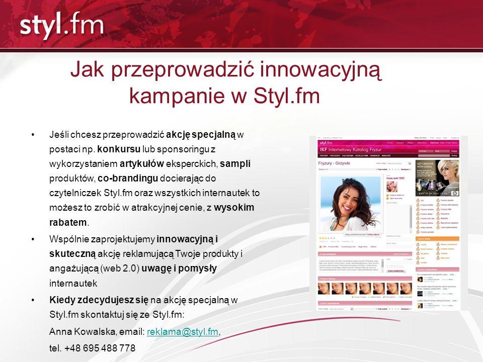 Jak przeprowadzić innowacyjną kampanie w Styl.fm