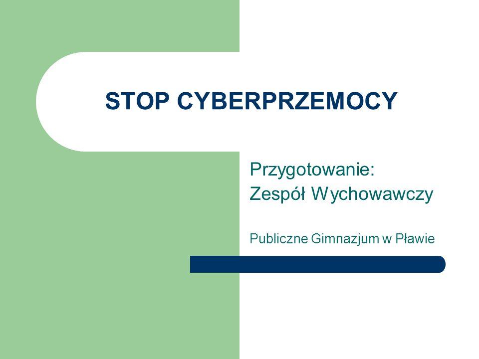 Przygotowanie: Zespół Wychowawczy Publiczne Gimnazjum w Pławie