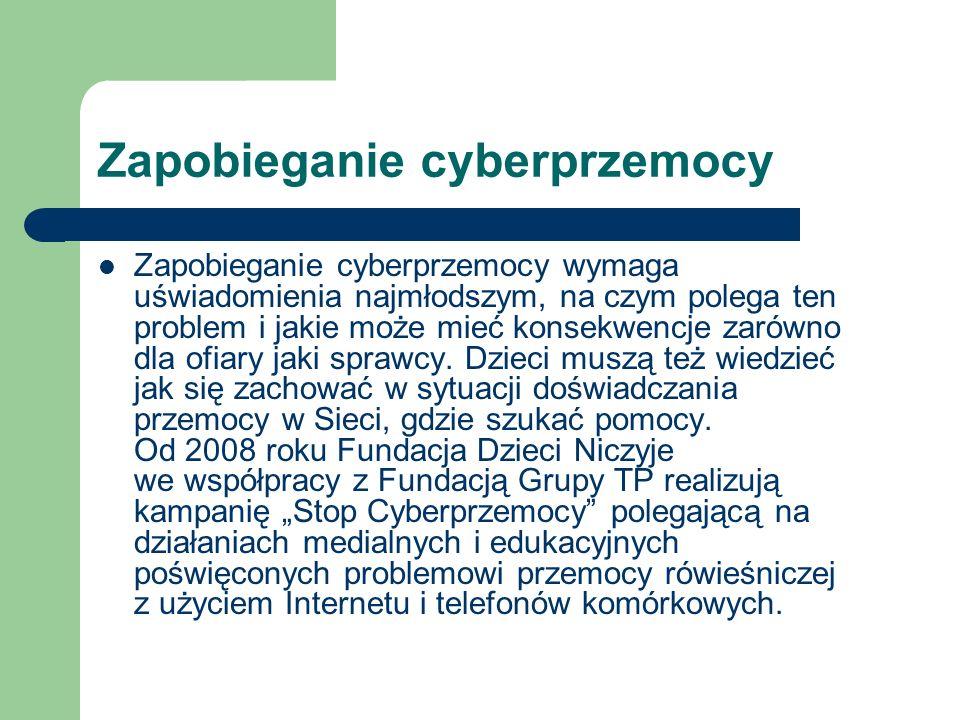 Zapobieganie cyberprzemocy