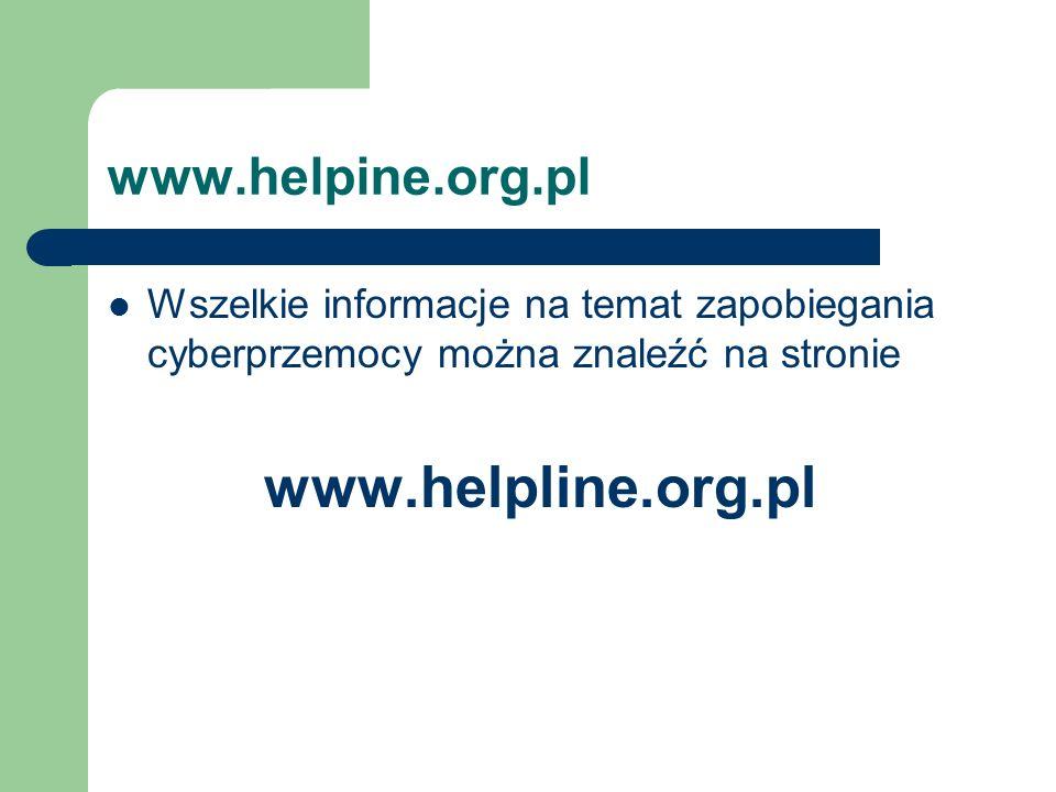 www.helpline.org.pl www.helpine.org.pl