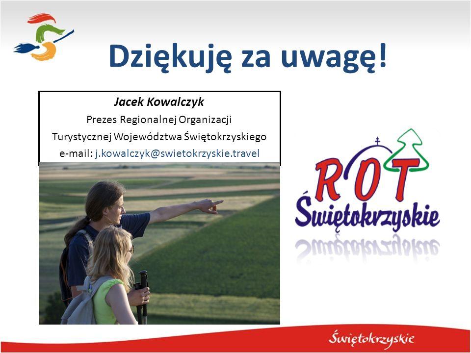 Dziękuję za uwagę! Jacek Kowalczyk Prezes Regionalnej Organizacji