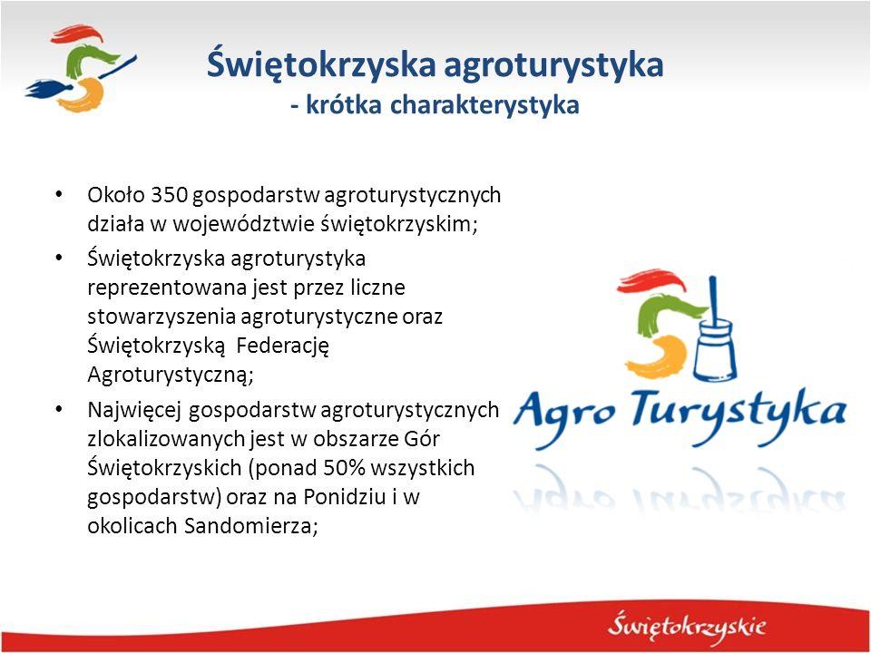 Świętokrzyska agroturystyka - krótka charakterystyka
