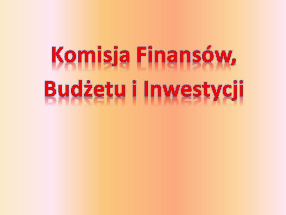 Komisja Finansów, Budżetu i Inwestycji