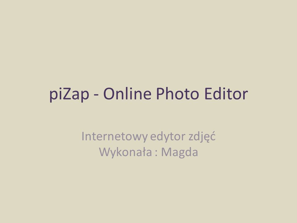 piZap - Online Photo Editor