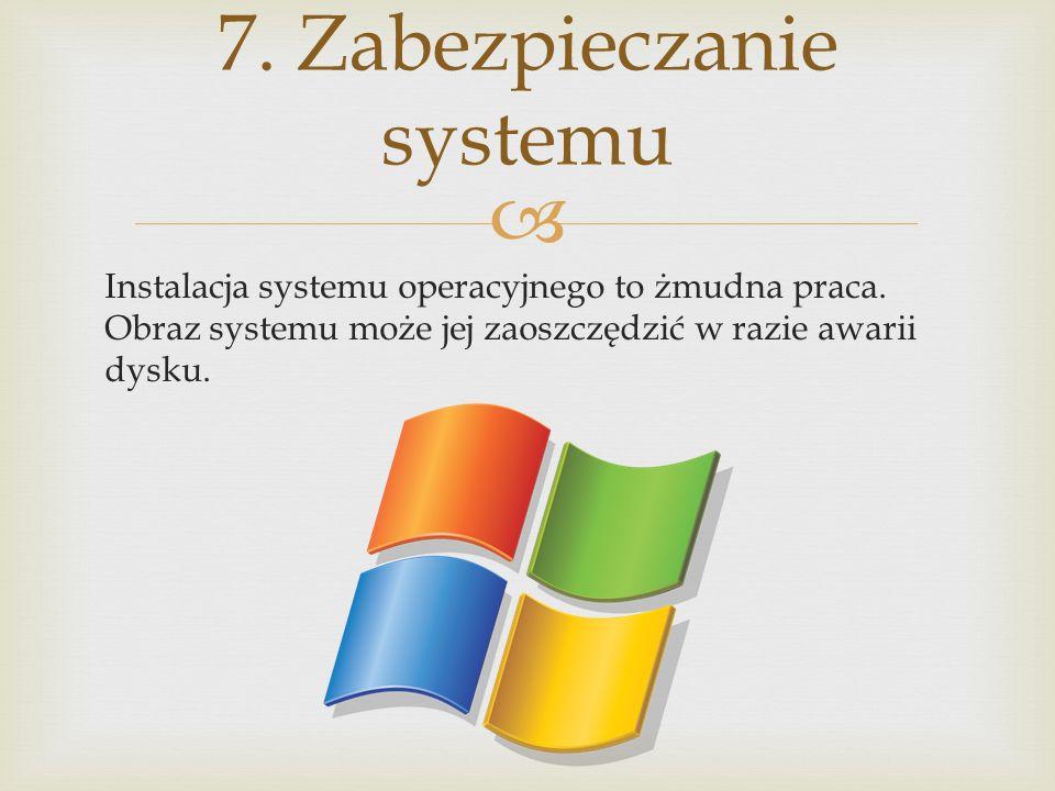7. Zabezpieczanie systemu
