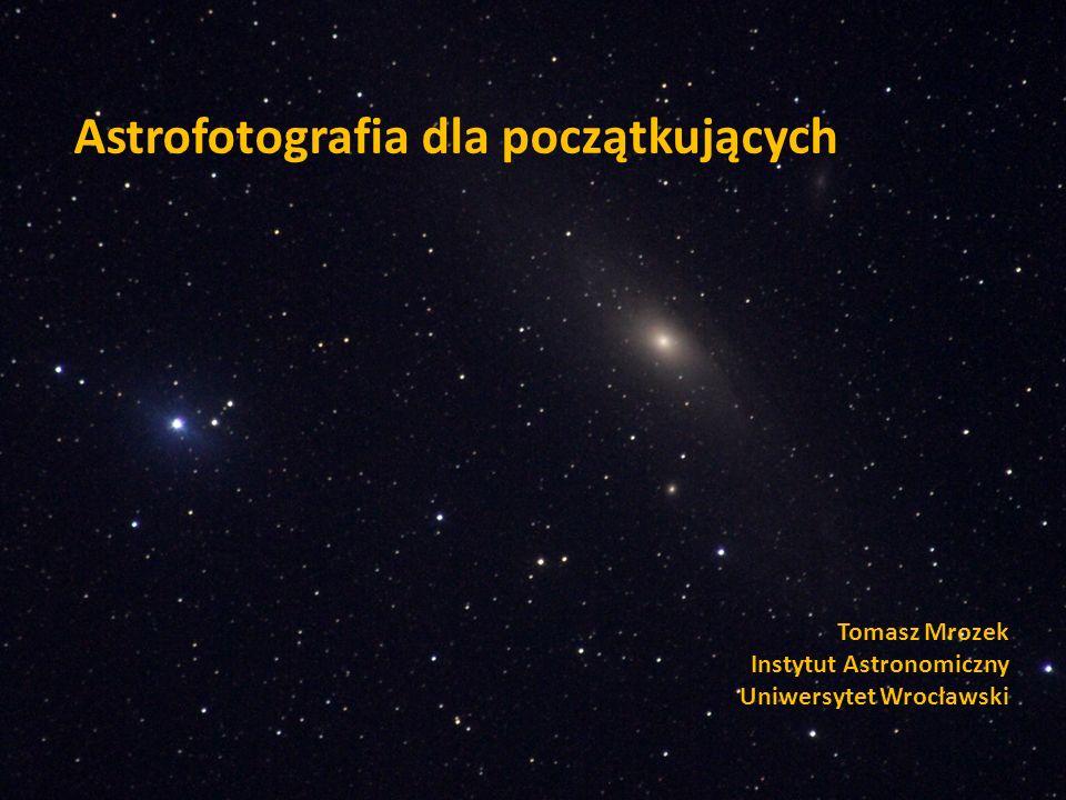 Astrofotografia dla początkujących