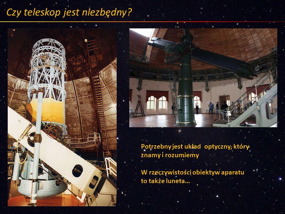 Czy teleskop jest niezbędny