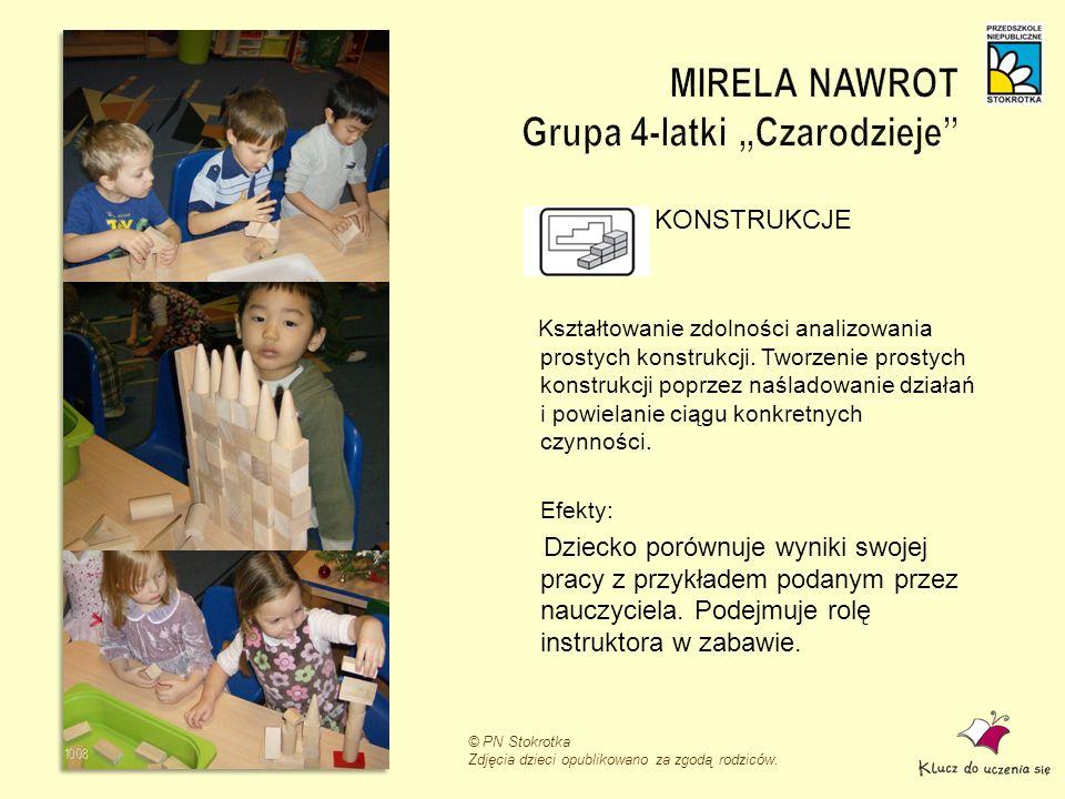 """MIRELA NAWROT Grupa 4-latki """"Czarodzieje"""