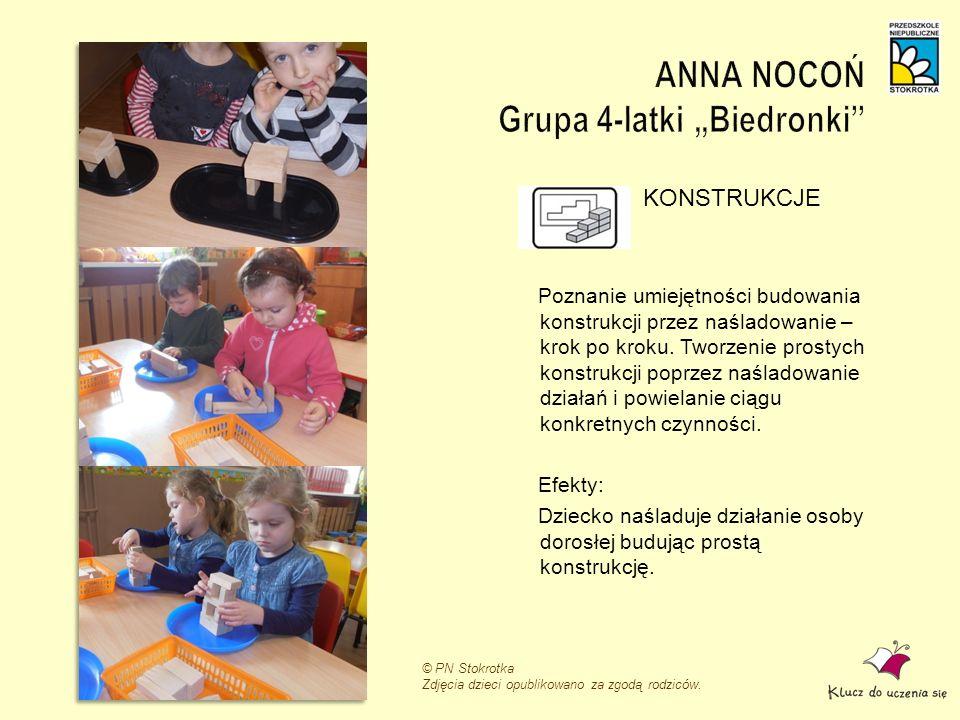 "ANNA NOCOŃ Grupa 4-latki ""Biedronki"