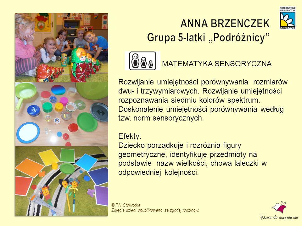 """ANNA BRZENCZEK Grupa 5-latki """"Podróżnicy"""