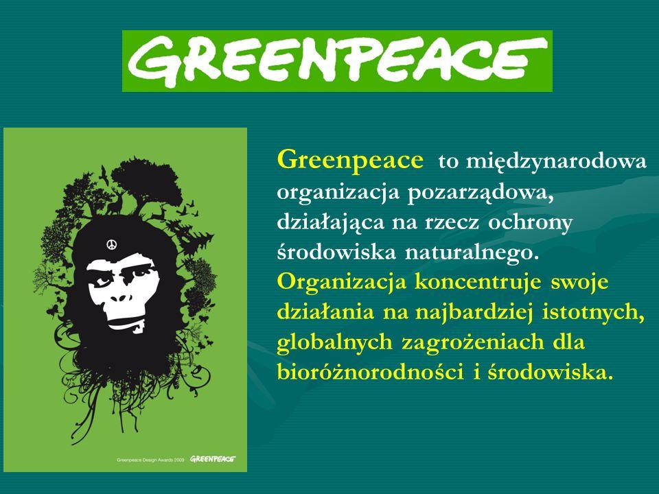 Greenpeace to międzynarodowa