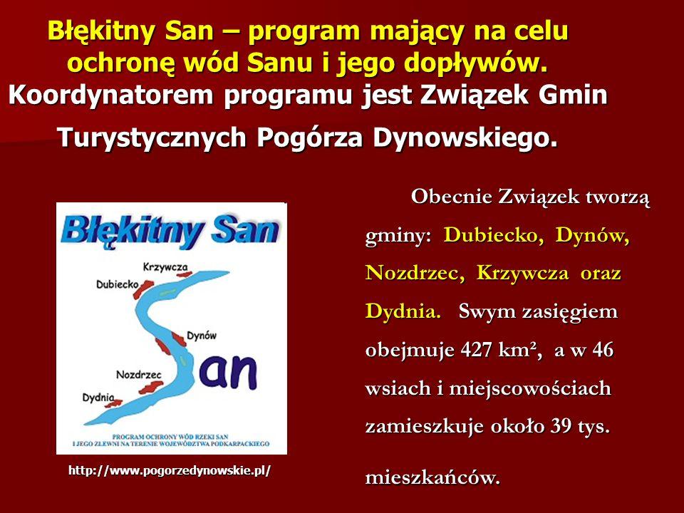 Błękitny San – program mający na celu ochronę wód Sanu i jego dopływów