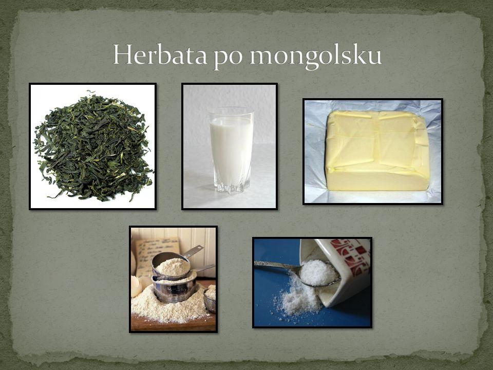 Herbata po mongolsku