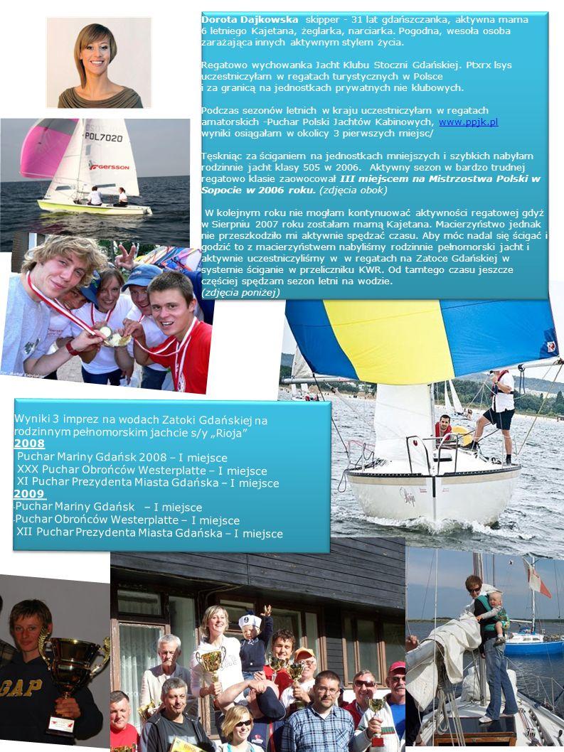 Wyniki 3 imprez na wodach Zatoki Gdańskiej na