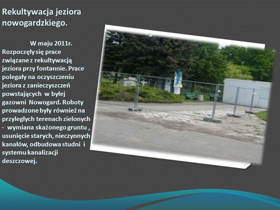Rekultywacja jeziora nowogardzkiego.
