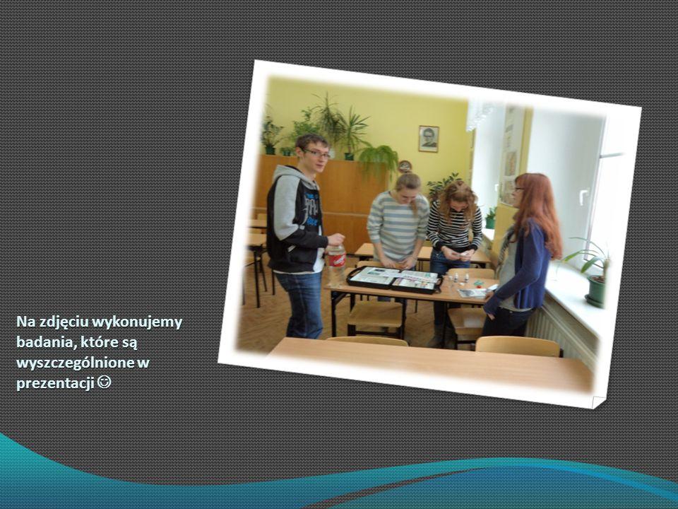 Na zdjęciu wykonujemy badania, które są wyszczególnione w prezentacji 