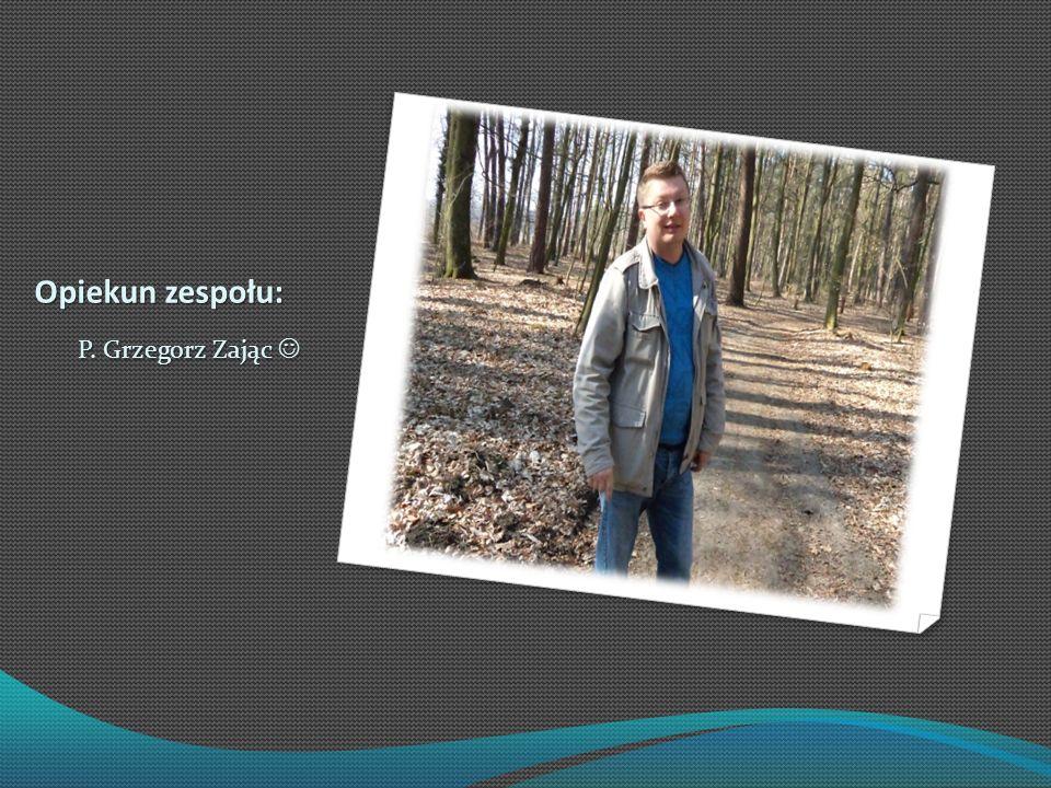 Opiekun zespołu: P. Grzegorz Zając 